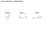 Calcium channel blockers - nondihydropyridines PPT Slide